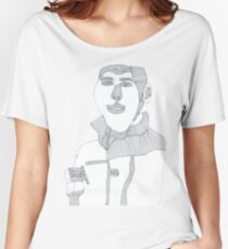 Smoking man Women's Relaxed Fit T-Shirt