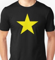Gold Star Solid Unisex T-Shirt