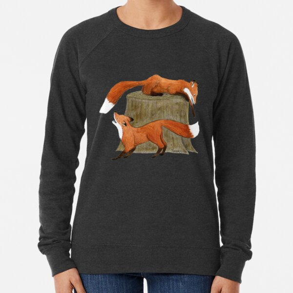 Two Foxes Lightweight Sweatshirt