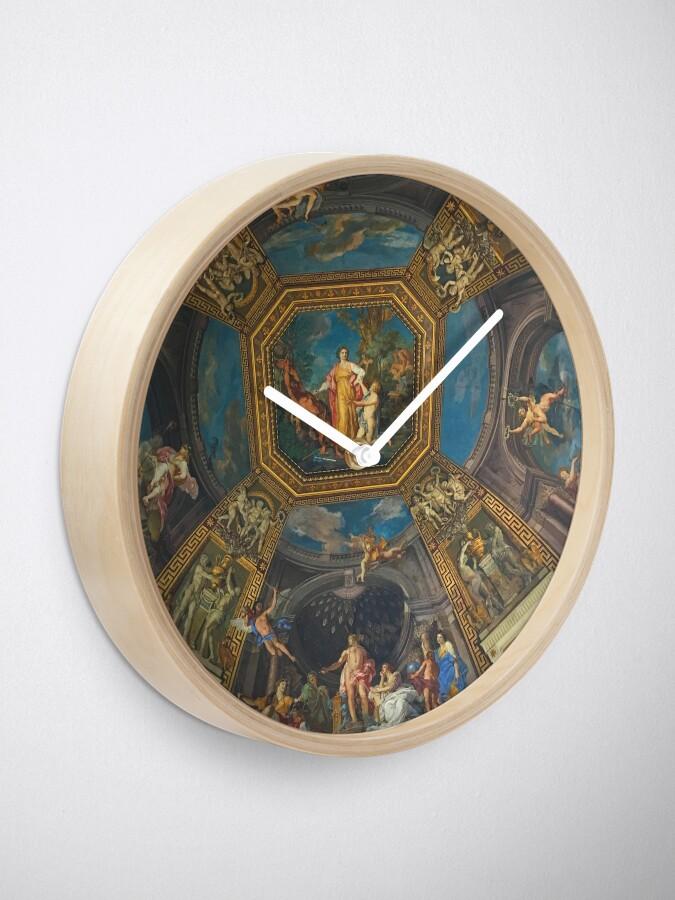Alternate view of The Vatican-Ceiling Mural Clock