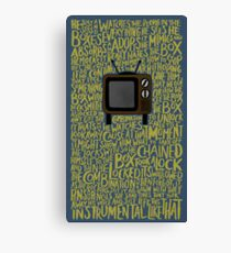Lupe Fiasco - The Instrumental Canvas Print
