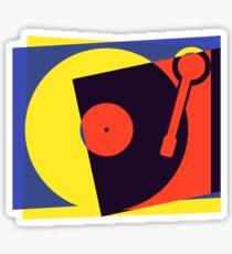 Pop Art Turntable Sticker
