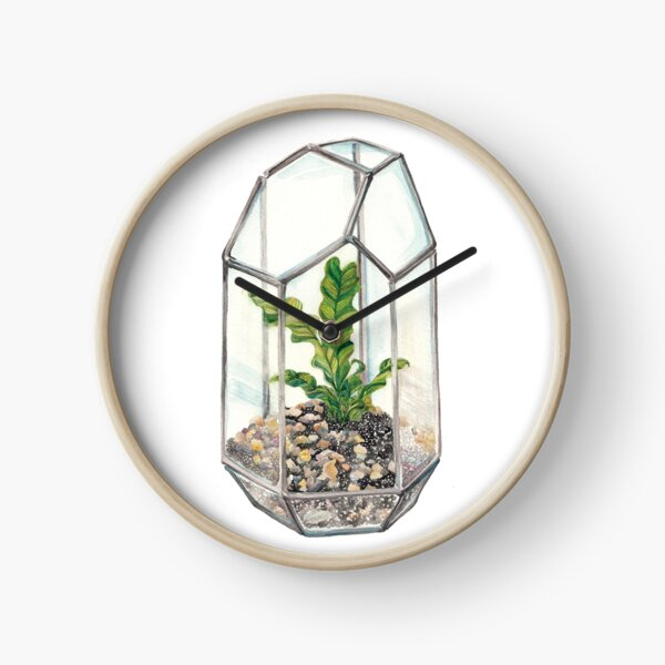 House plant Clock