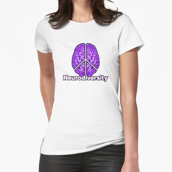 Peace of Mind - Neurodiversity Fitted T-Shirt