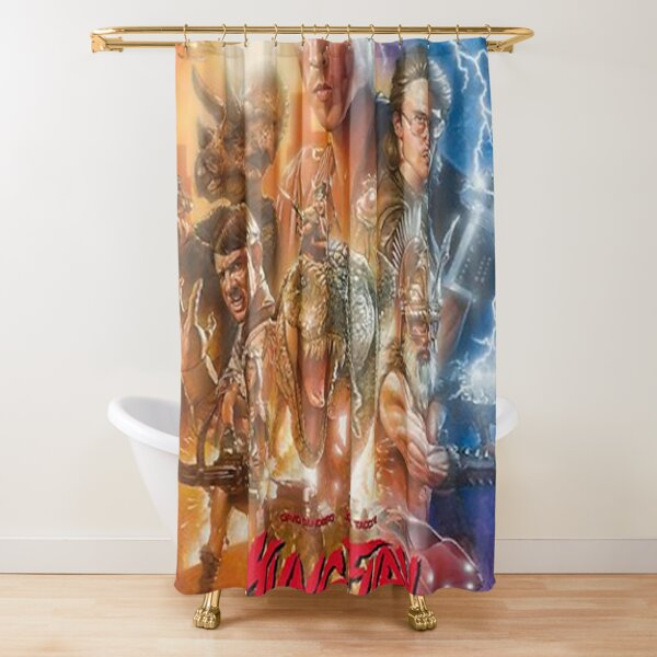 Kung Fury -  Shower Curtain