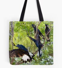 Family of Four Tote Bag