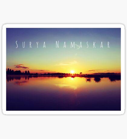 Surya Namaskar II Sticker