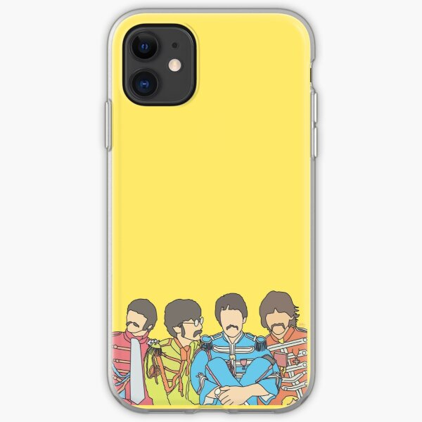 the Beatles Sgt Pepper iPhone Soft Case
