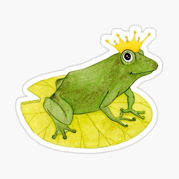 Frog Prince Sticker