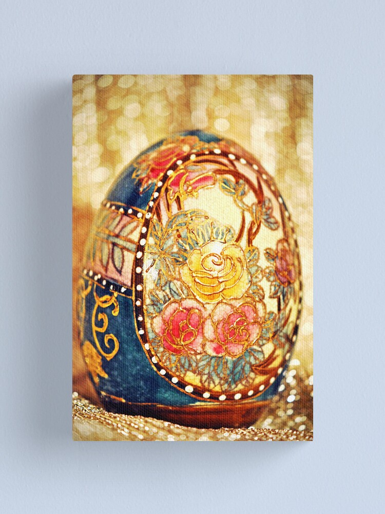 Alternate view of Elegant Egg Canvas Print
