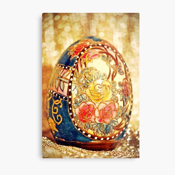 Elegant Egg Metal Print