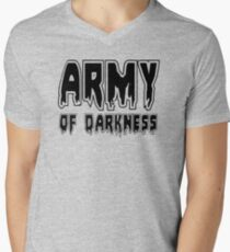 ARMY OF DARKNESS by Zombie Ghetto Men's V-Neck T-Shirt