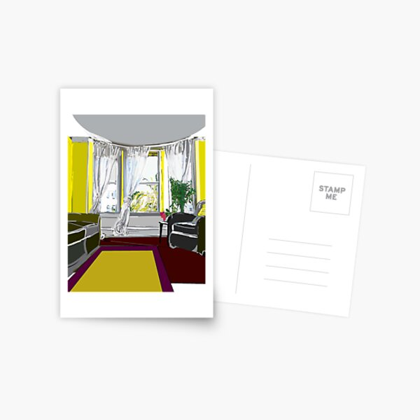 Comfortable Room Postcard