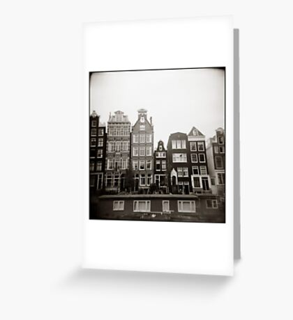{ skinny houses } Greeting Card