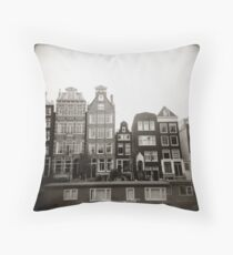 { skinny houses } Throw Pillow