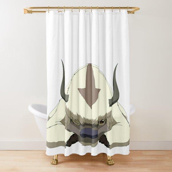 Appa Winking Avatar Shower Curtain