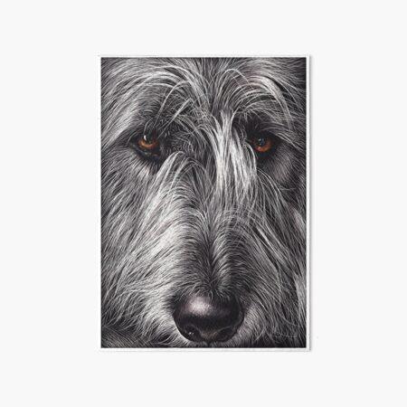 Wolfhound Art Board Print