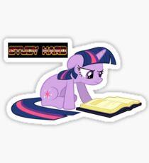 Study Hard (Twilight) Sticker
