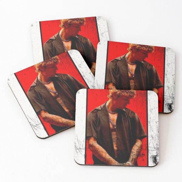 Justin Bieber Street Design Posavasos (lote de 4)