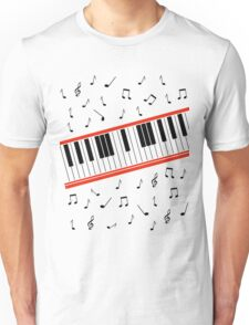 Beat It Piano Unisex T-Shirt