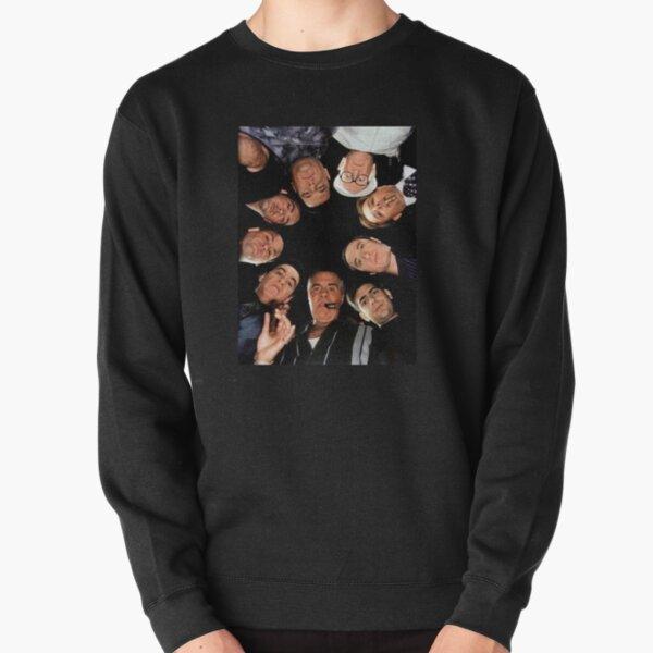 sopranos tv art Pullover Sweatshirt