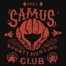 Samus Bounty Hunting Club by Azafran