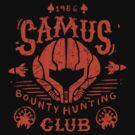 Samus Bounty Hunting Club by Azafran