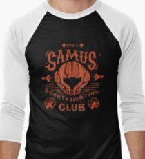 Samus Bounty Hunting Club Men's Baseball ¾ T-Shirt