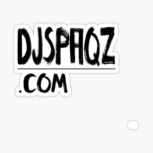 DJSPAQZ.COM merch Sticker
