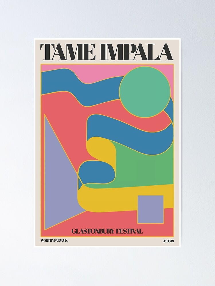 Alternate view of 2019 Festival Tame Cover  Poster