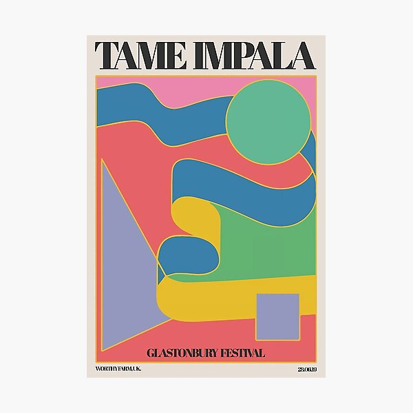 2019 Festival Tame Cover  Photographic Print