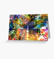 Flight of the Butterfly Greeting Card