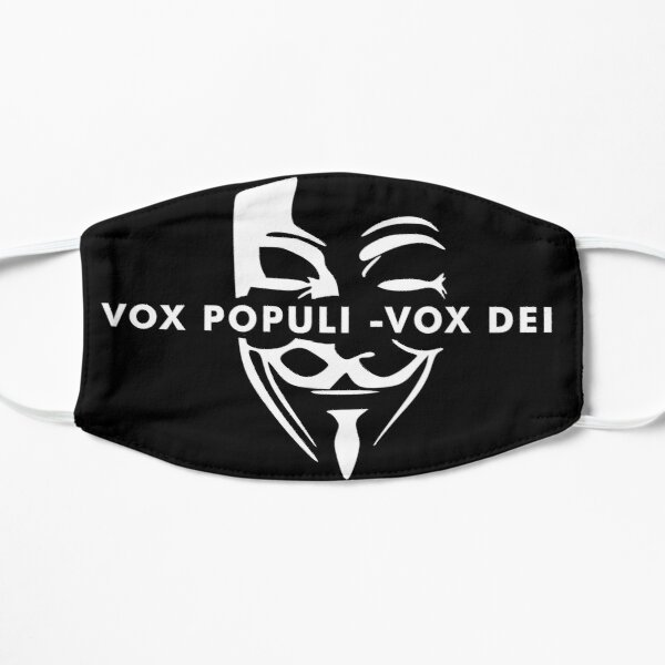 Voice of the great people Flat Mask