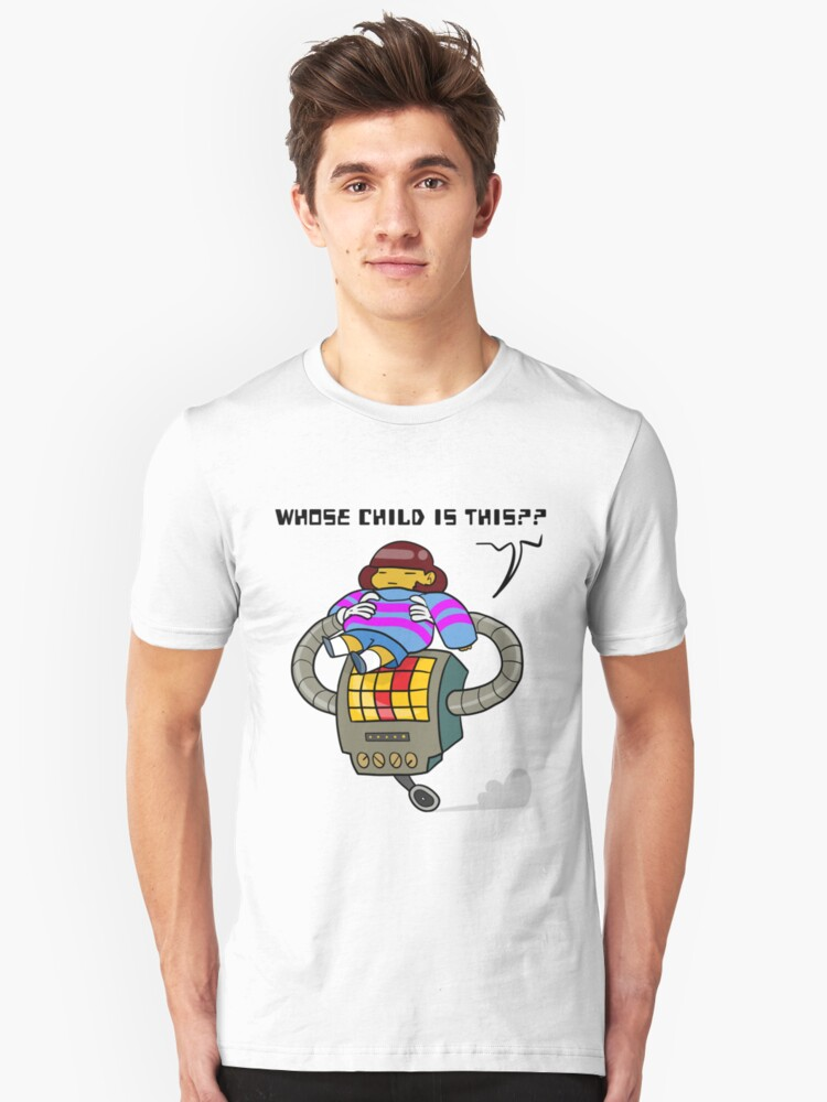 Whose Child Is This? - Undertale Unisex T-Shirt Front