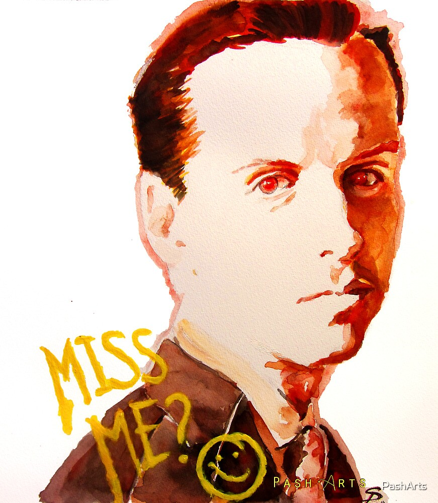 Miss me? - Jim Moriarty by PashArts