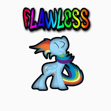 Rainbow Dash - Flawless by DespicableDash
