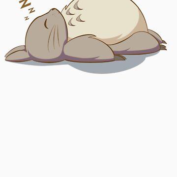 Totoro by Jackydile