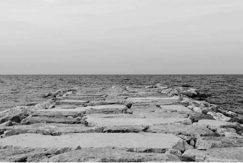 Infinity of the sea by Andrea Mazzocchetti