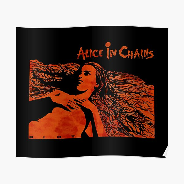 Alice in Chains Dirt colour Poster