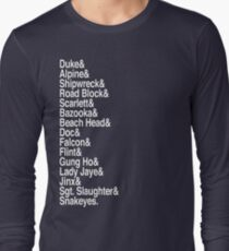 Yo Joes! (White) Long Sleeve T-Shirt