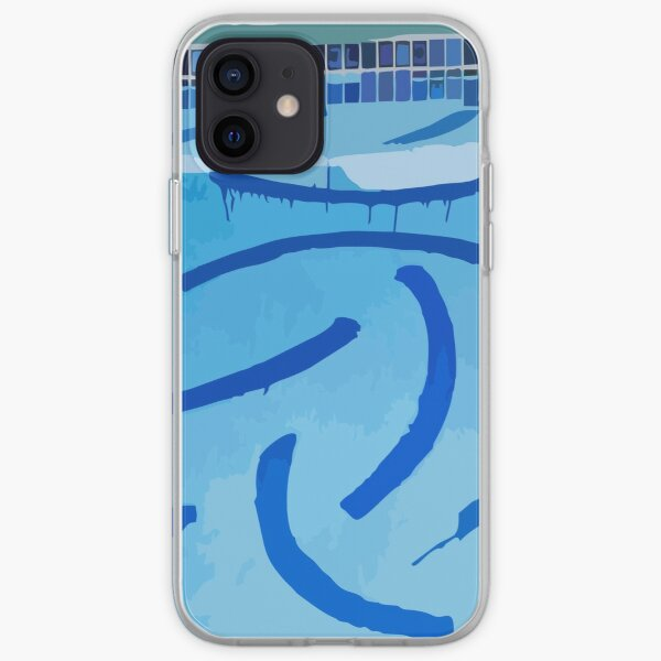 The Swimming Pool Of David Hockney iPhone Soft Case