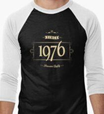 Since 1976 (Cream&Choco) Men's Baseball ¾ T-Shirt