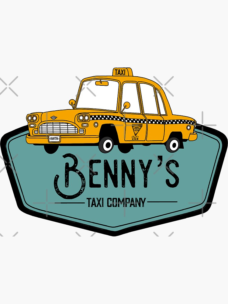 Benny's Taxi Co by Haleighturner