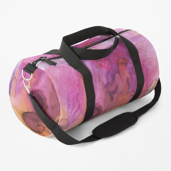 Lotus and Butterfly Duffle Bag
