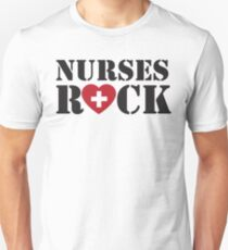 Nurses Rock Unisex T-Shirt