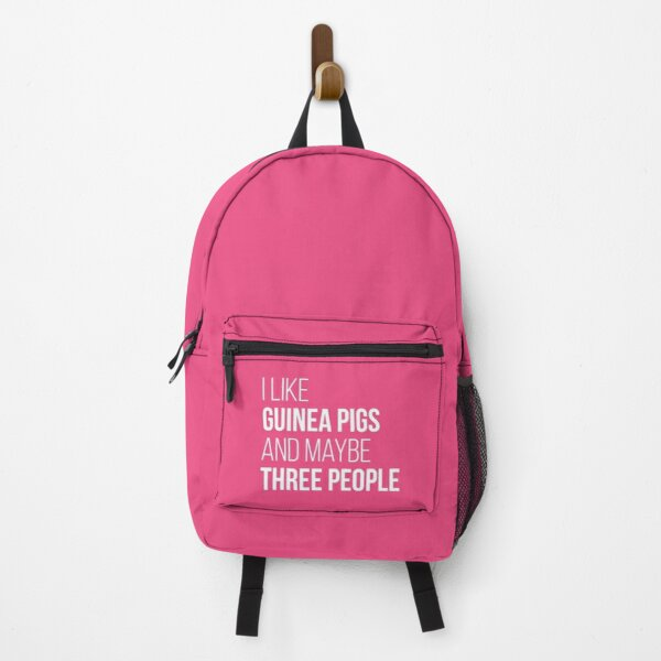 I Like Guinea Pigs And Maybe Three People for Women Backpack