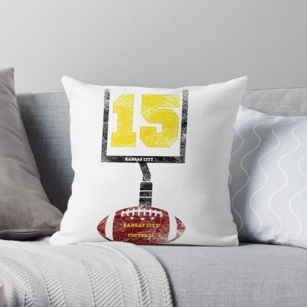 KANSAS CITY FOOTBALL 15 Throw Pillow
