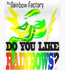 The Factory Slogan Poster