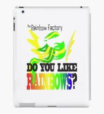 The Factory Slogan iPad Case/Skin