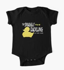 The Snuggly Duckling - WHITE One Piece - Short Sleeve